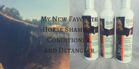 Ultra Cruz Equine Grooming Products