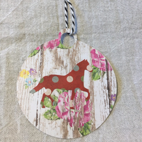 Horse-Themed Christmas Ornament