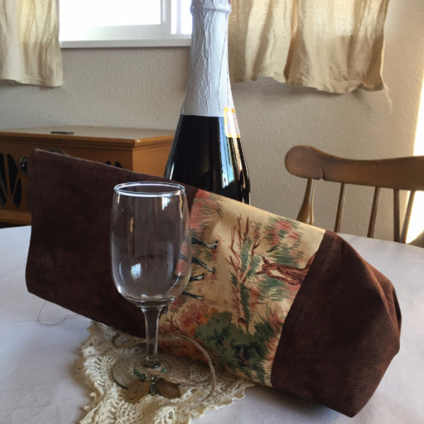 Handmade Wine Gift Bag