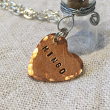 Add a Custom Hand Stamped Tag to your Item