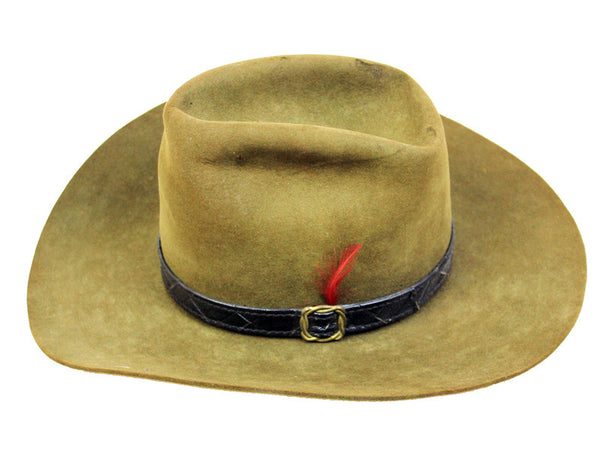 Vintage Tall Brown Stetson 4X Hat