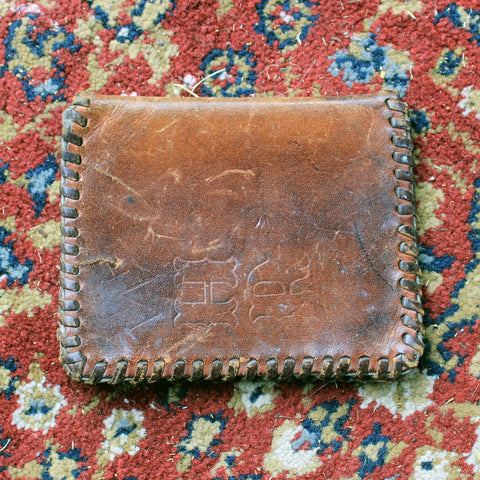 WHR Stamped Leather Wallet
