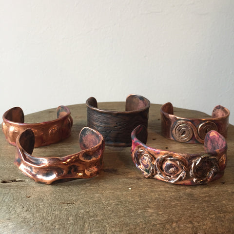 Copper Adjustable Bracelets