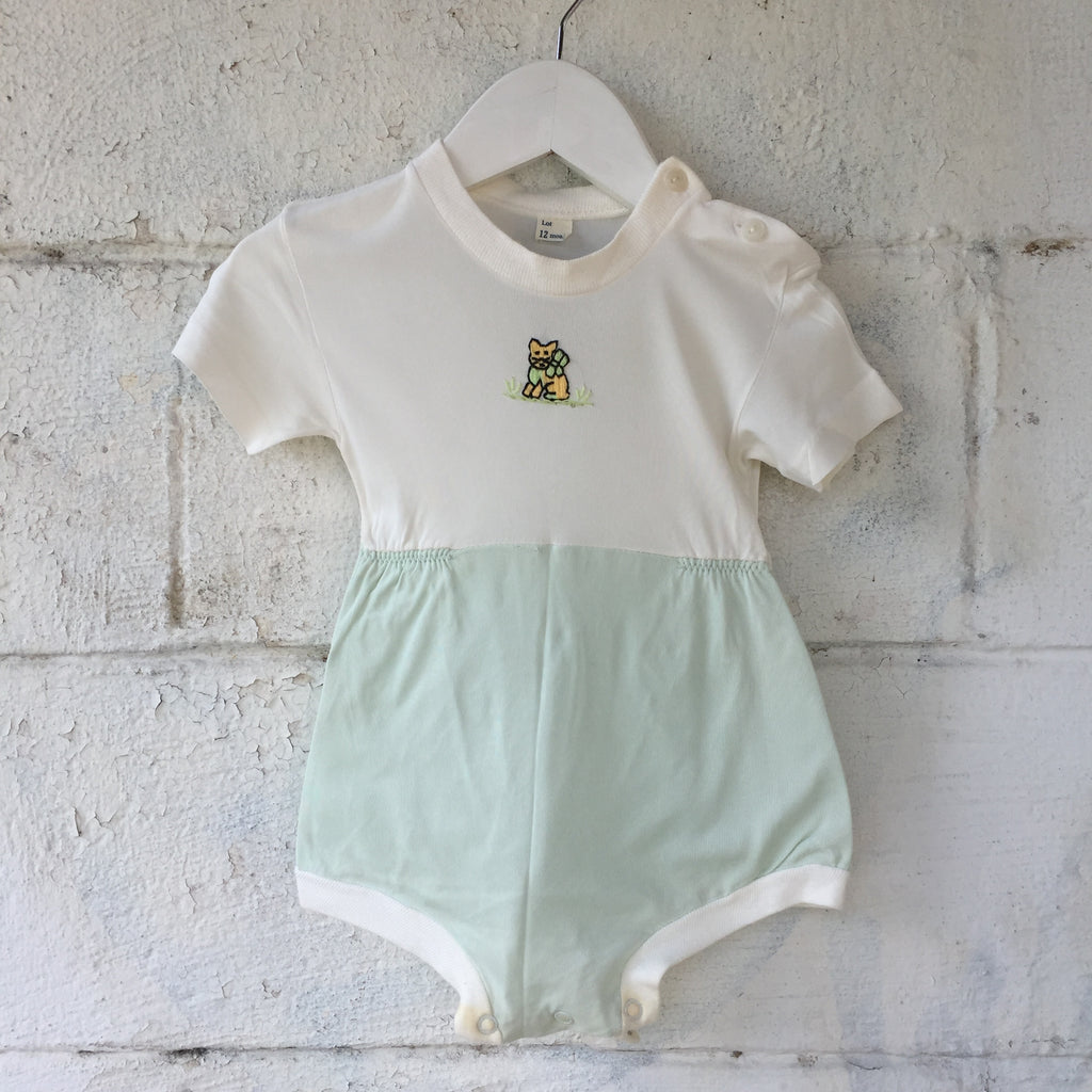 1960s Honeysuckle Interchangeable Romper Set