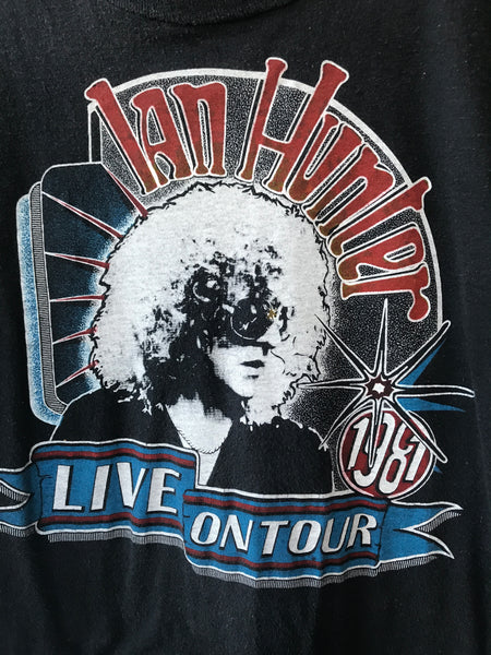 1981 Ian Hunter Tour Tee