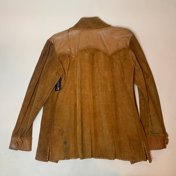 1960s Suede & Leather Jacket (M)