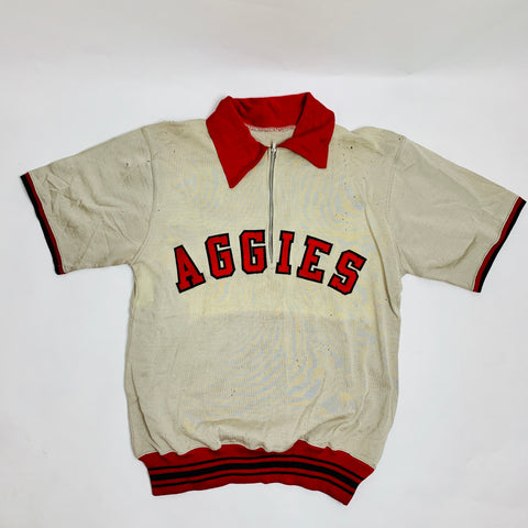 "Vintage Distressed ""Aggies"" Jersey (M)"