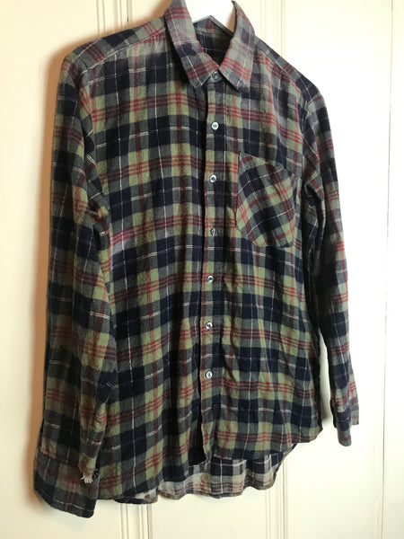 Vtg. Red, Black, and Grey Flannel