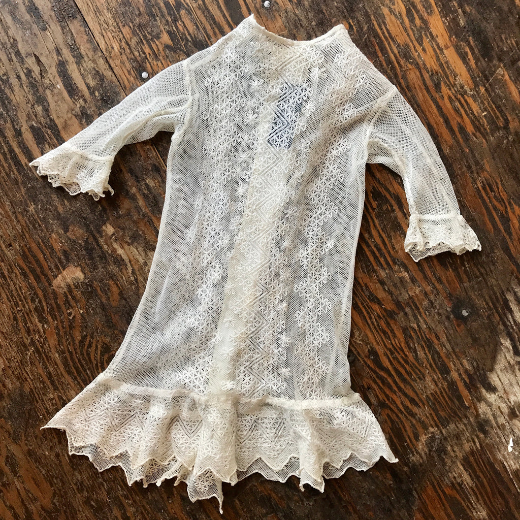 Early 1900s Girls Lace Dress
