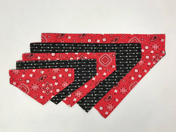 Handmade Dog Collar Bandanas