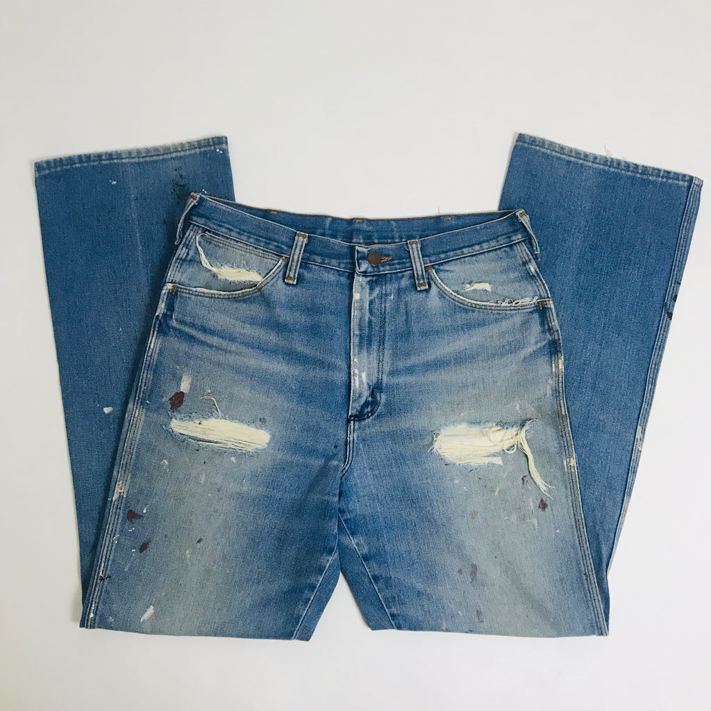 Vtg. Soft Wash Distressed Wranglers 32x32