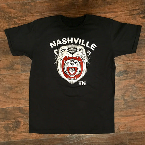 High Class Hillbilly Black Tiger Tee