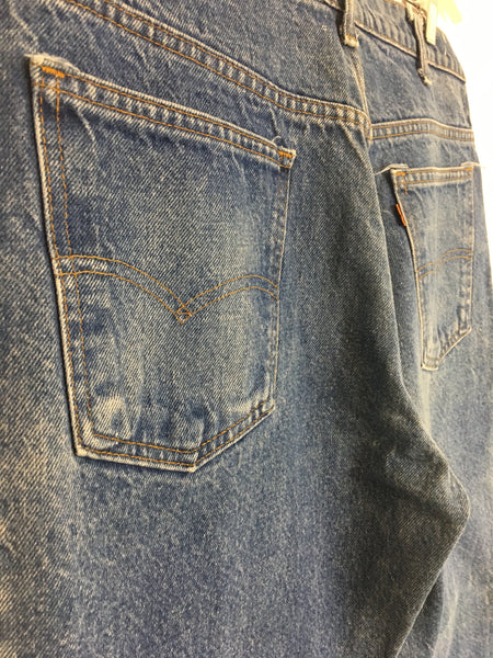 Medium Wash Levi Bells 34x29