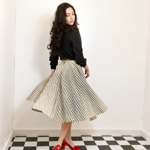 1950s Sockhop Skirt -as is-