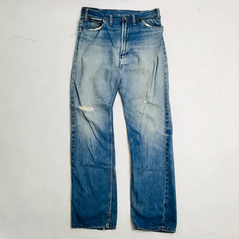 Vtg. JCP Ranchcraft Washed Out Jeans 32x33