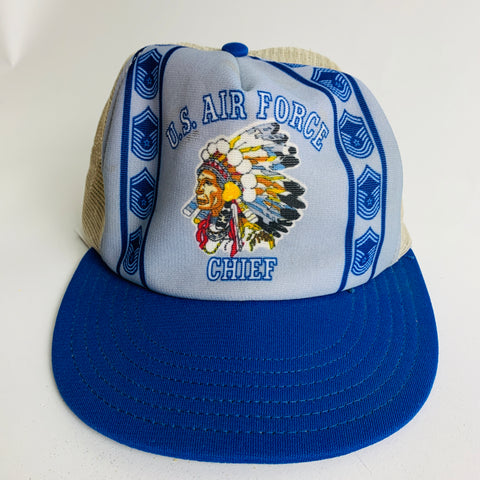 Vtg. US Air Force Chief Hat