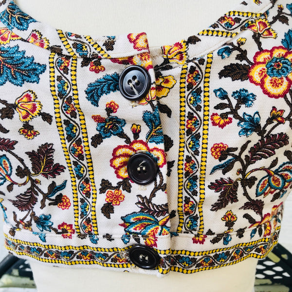 NOS Floral Tapestry Crop Tops