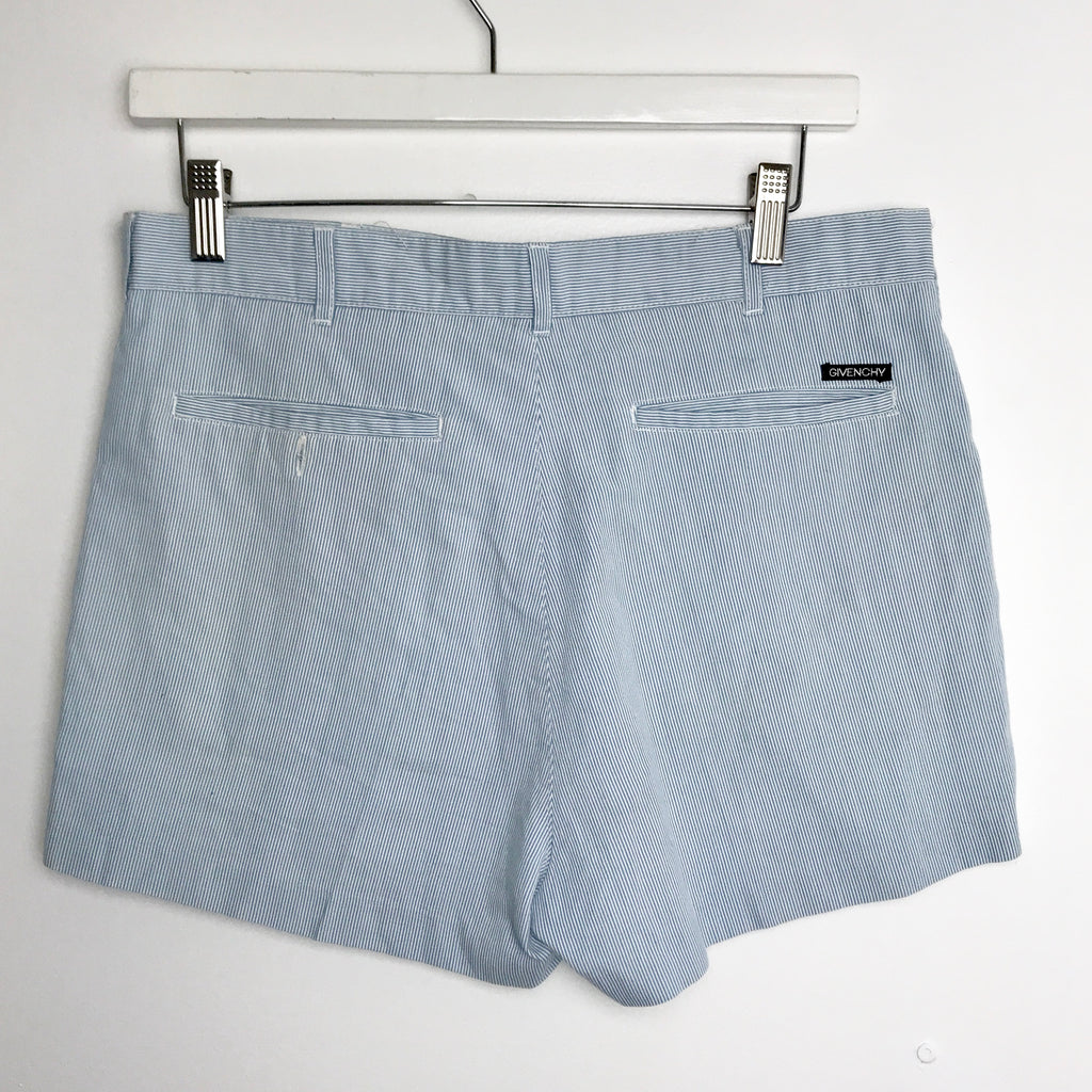 Vintage Givenchy Pinstripe Shorts size 32