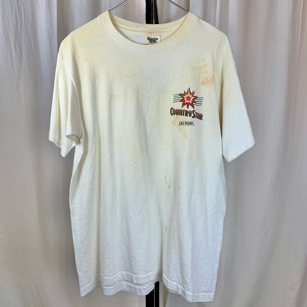 Vtg. Las Vegas Country Star Tee (L/XL)