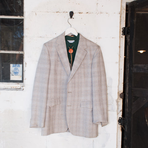 Vintage Rose Clothes Grey Plaid Western Suit