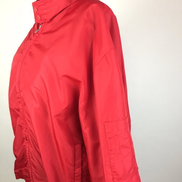 Vintage Lee Red Windbreaker Jacket