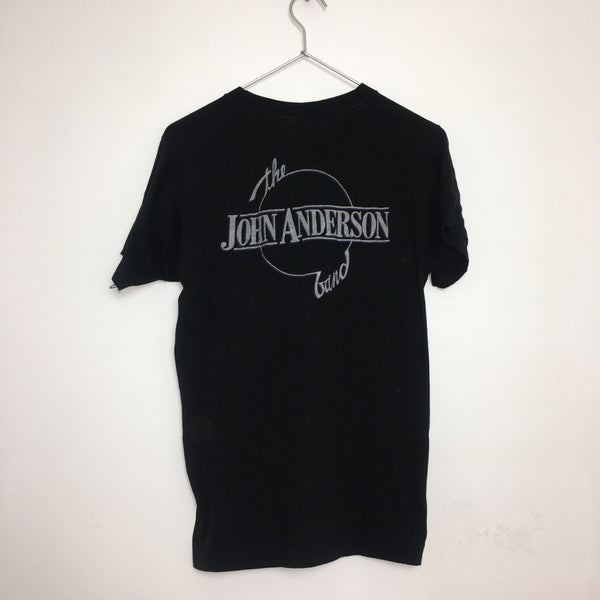 Vintage John Anderson Band Faded Black Tee