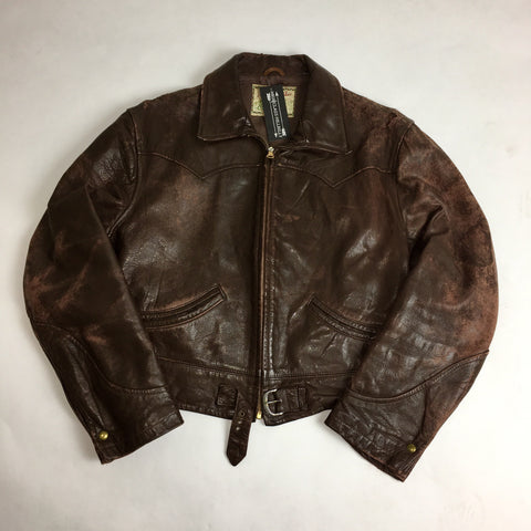 1950s McGregor Cowhide Leather Jacket