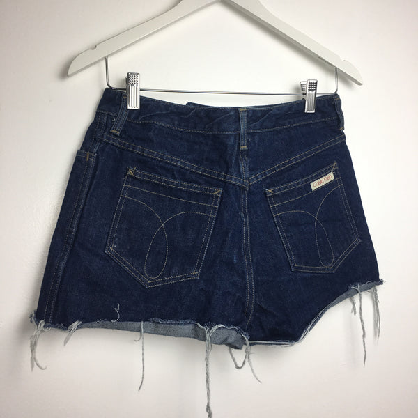 Vtg. Calvin Klein Dark Wash Cutoff Shorts
