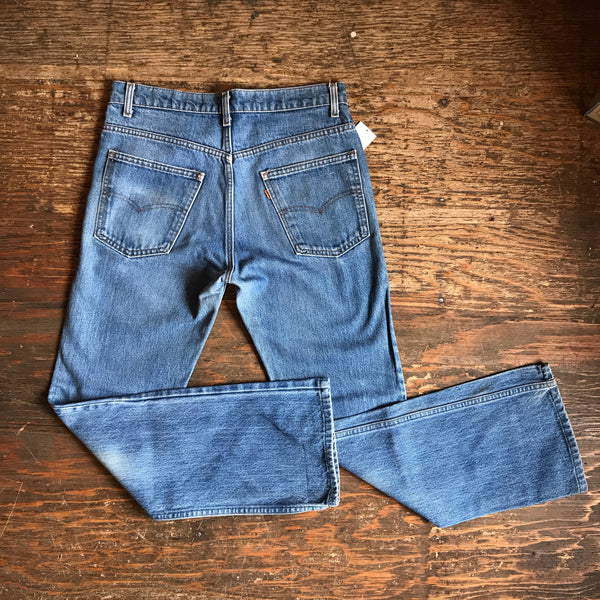 Orange Tab Levi Strauss Straight Leg Jeans 33 x 31