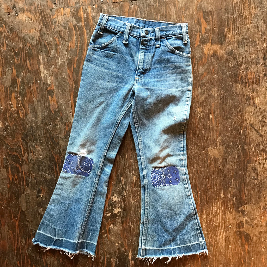 Kid's Patchwork Jeans