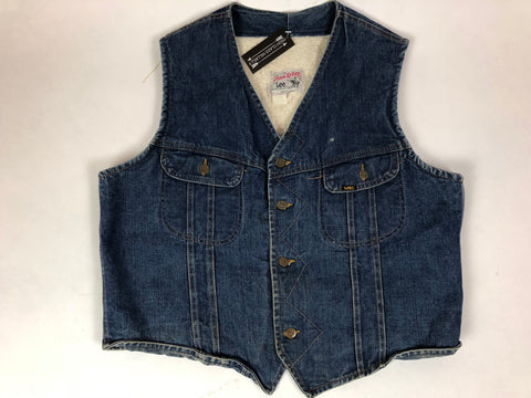 Storm Rider Sherpa and Denim Western Vest