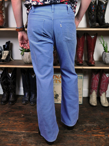 Light Blue Levi Strauss Corduroy Pants