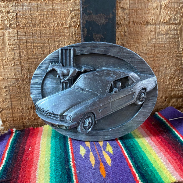 1987 Ford Mustang Buckle