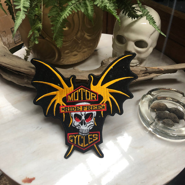 Vintage RIDE FREE Patch