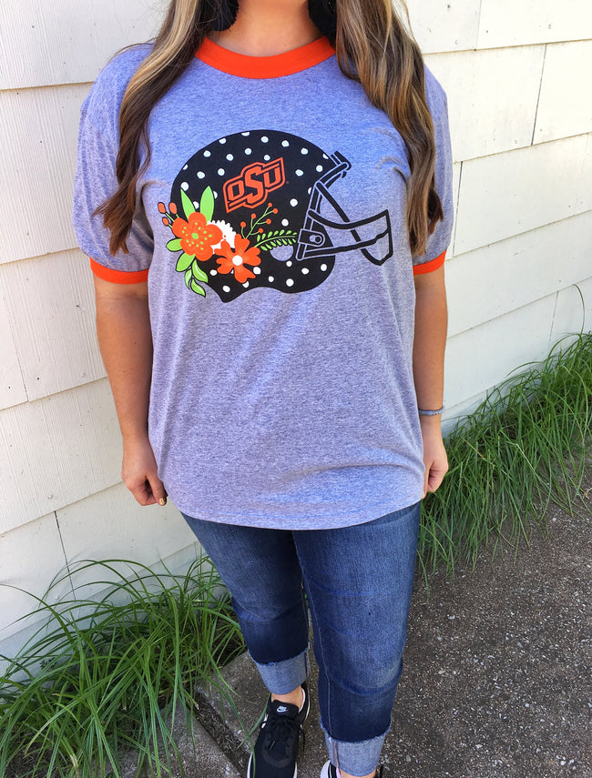 OSU Football Helmet T-shirt