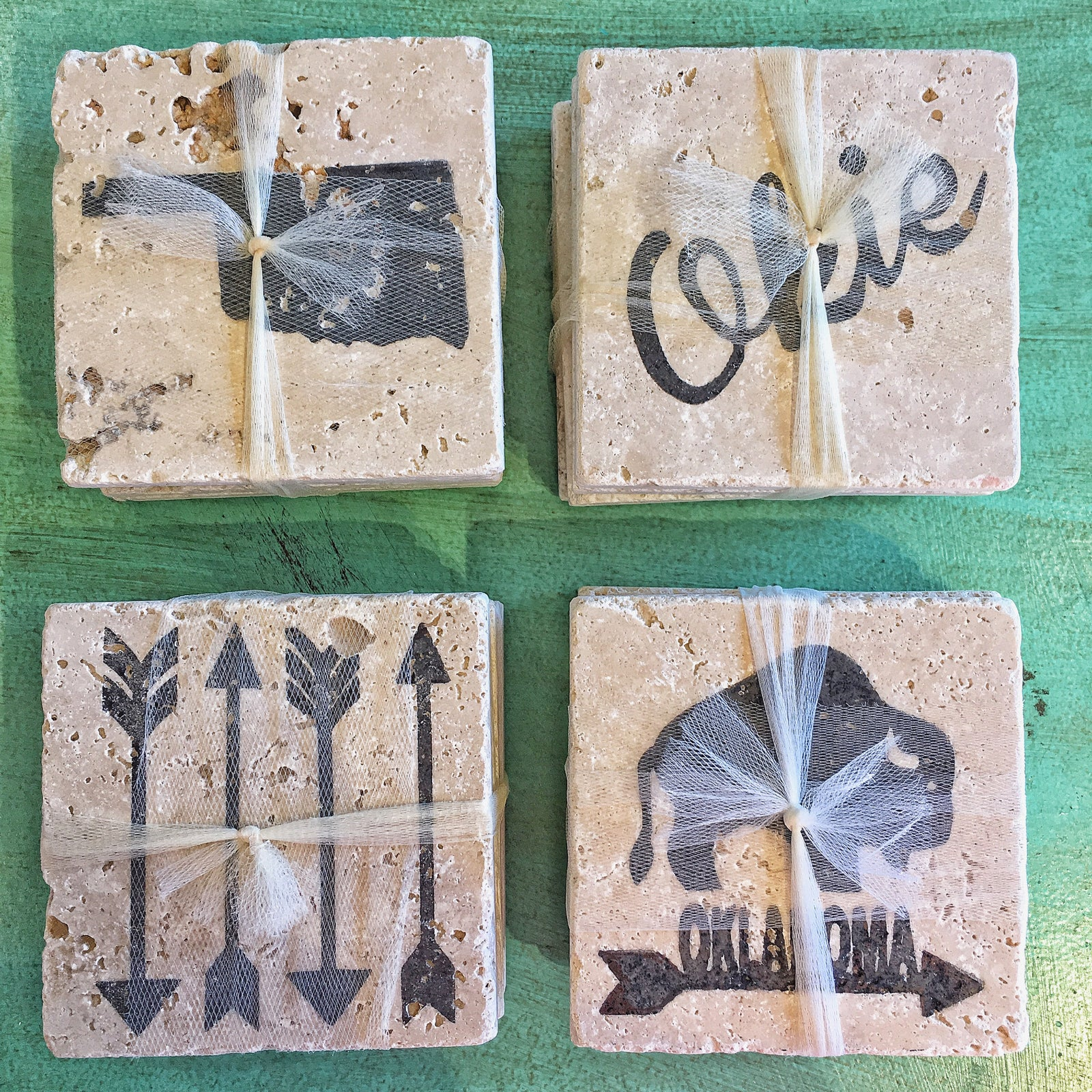 Oklahoma Coaster Set