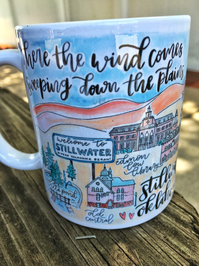 Stilly Watercolor Mug