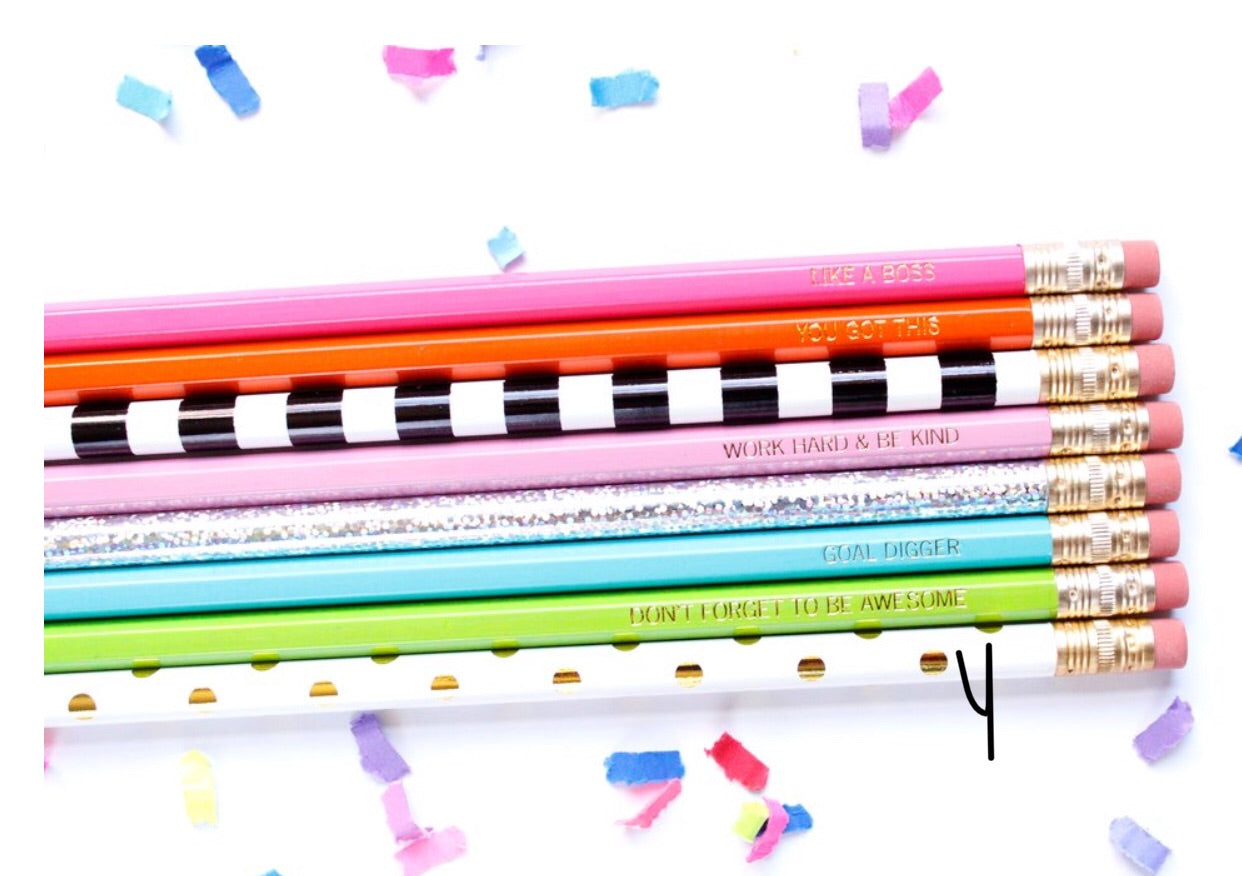 Pencil Set of 8 TE