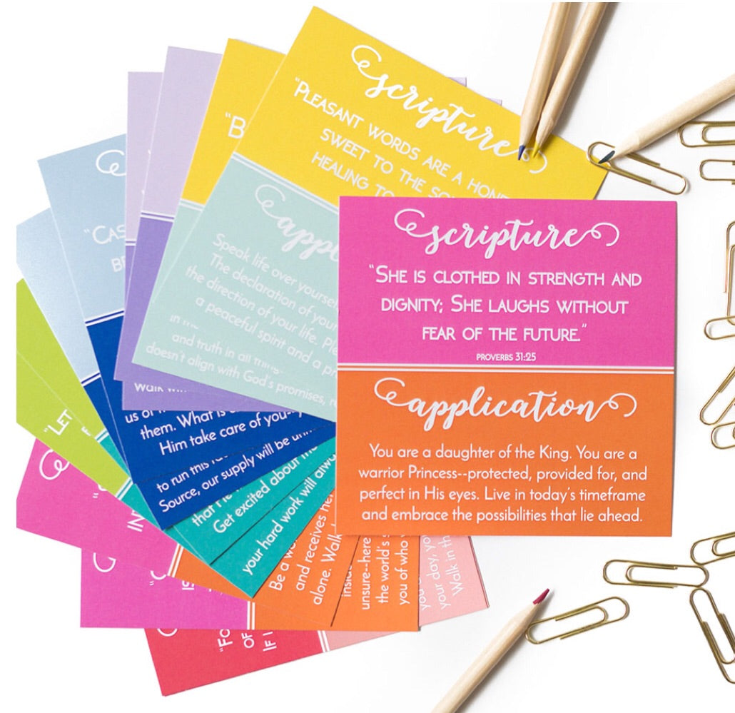 Girl on the Go Devotional Cards