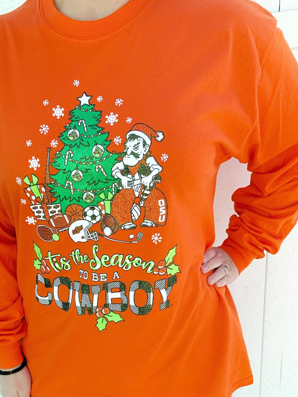 OSU Holiday Longsleeve T-shirt
