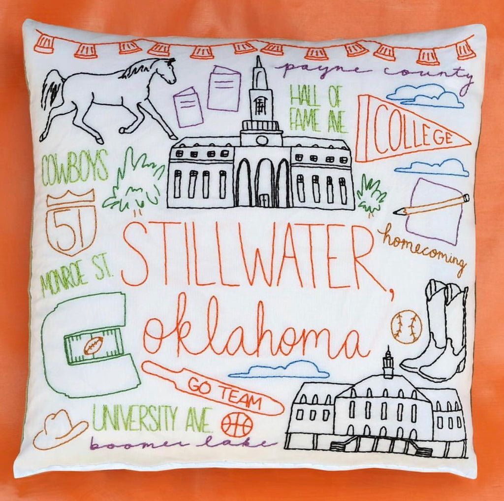 Embroidery Pillow Kit