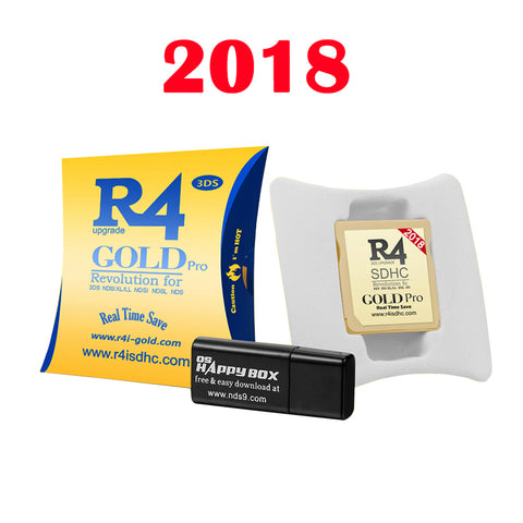 R4 Gold Pro 2018 Edition + Extras