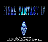 Final Fantasy IV English Translation - SNES (EUR/PAL)