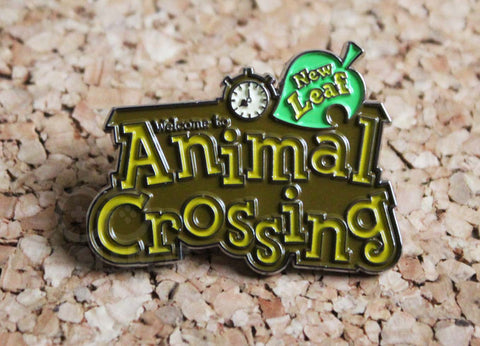 Animal Crossing New Leaf Pin Badge