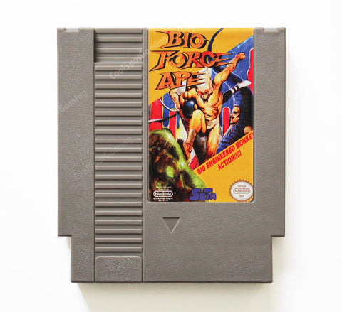 Bio Force Ape - Unreleased Prototype - NES
