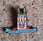 "Bojack Horseman ""Every day it gets a little easier.""  Pin Badge"