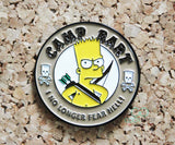 The Simpsons - Camp Bart Pin Badge