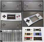 Game Boy Micro Clear Transparent Plastic Faceplate