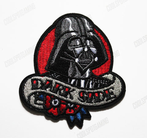 Star Wars Darth Vader Dark Side Embroidered Patch