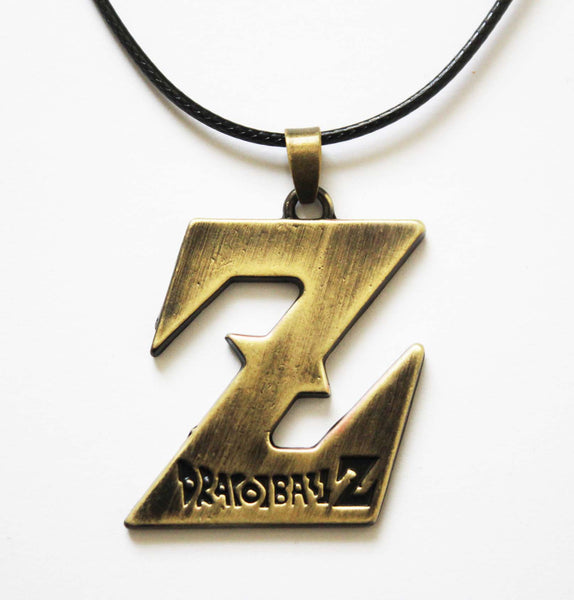 Dragon Ball Z -'Z' Pendant & Cord Necklace